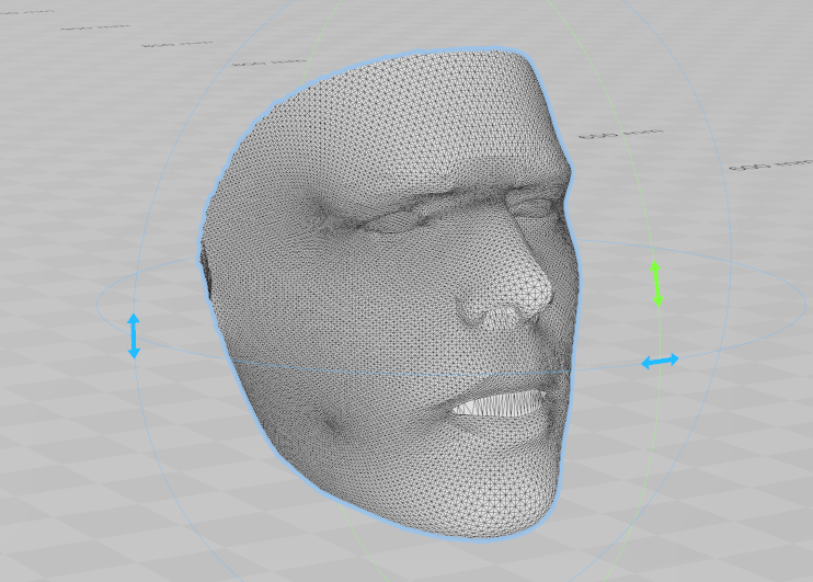 2dface-to-3dface